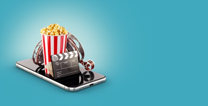 How do movies help to relieve your stress?