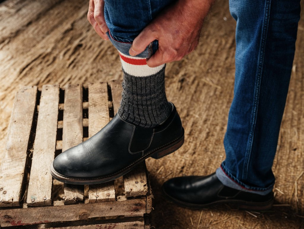 Thin Socks vs. Thick Socks